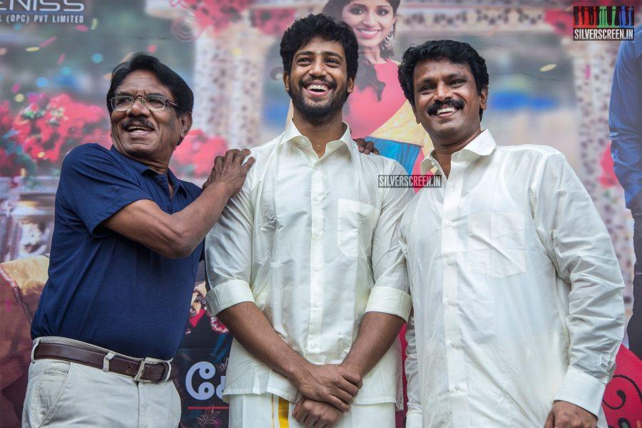 Cheran, P Bharathiraja, Umapathy At The 'Thirumanam' Audio Launch