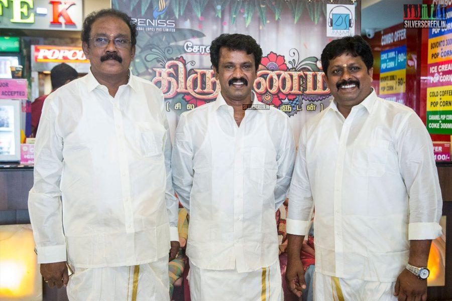 Cheran At The 'Thirumanam' Audio Launch