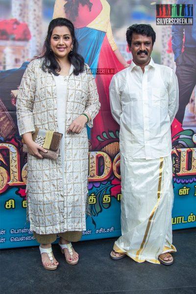 Cheran, Meena At The 'Thirumanam' Audio Launch