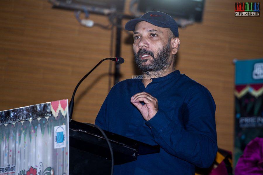 Chezhiyan At The 'Thirumanam' Audio Launch