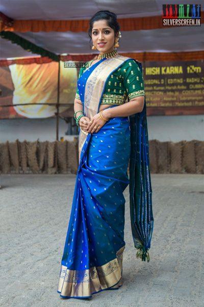 Kavya Suresh At The 'Thirumanam' Audio Launch