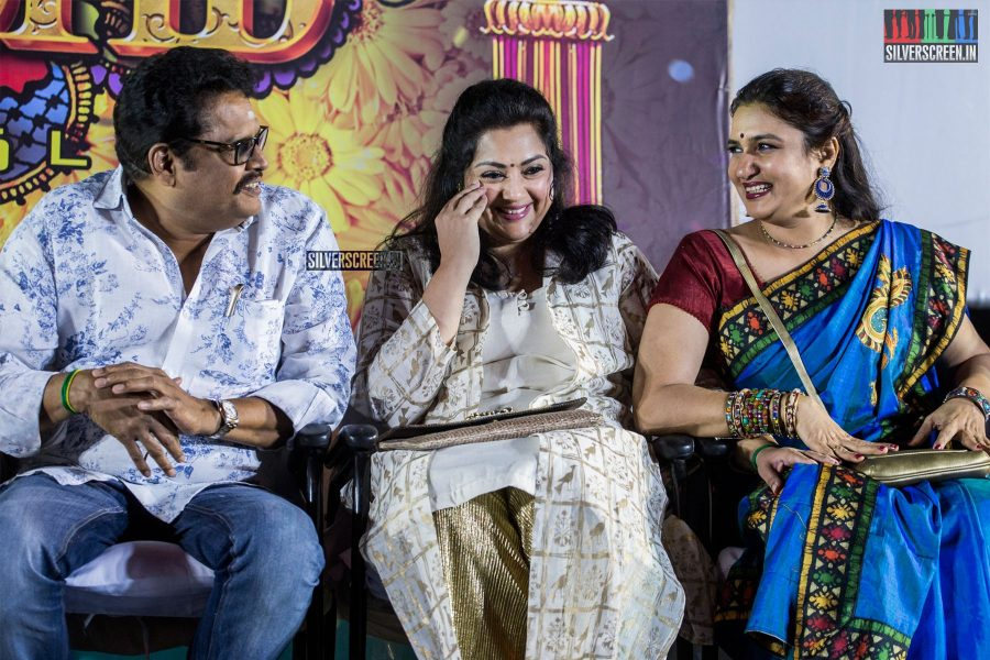 KS Ravikumar, Meena, Sukanya At The 'Thirumanam' Audio Launch