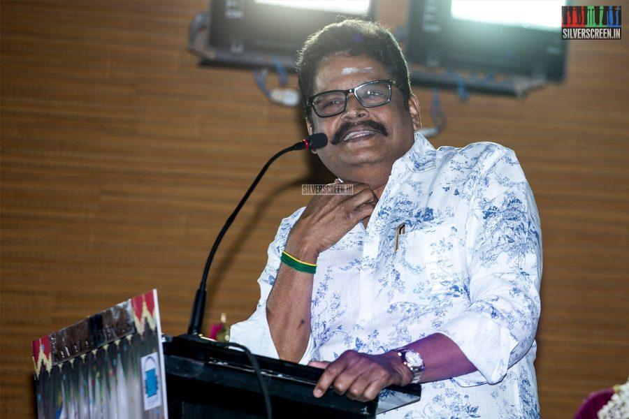 KS Ravikumar At The 'Thirumanam' Audio Launch