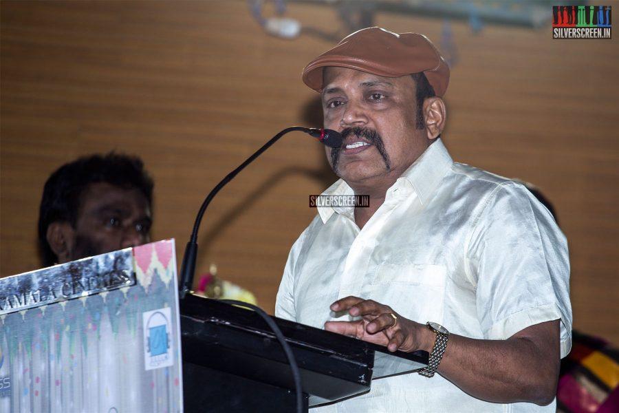 Thambi Ramaiah At The 'Thirumanam' Audio Launch