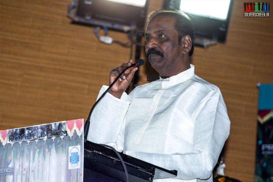 Vairamuthu At The 'Thirumanam' Audio Launch