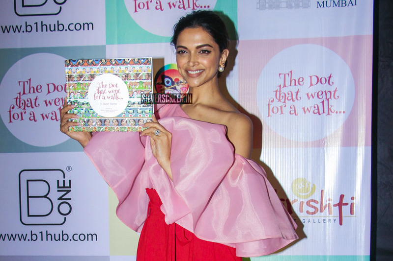 Deepika Padukone At 'The Dot That Went For A Walk' Book Launch in Mumbai