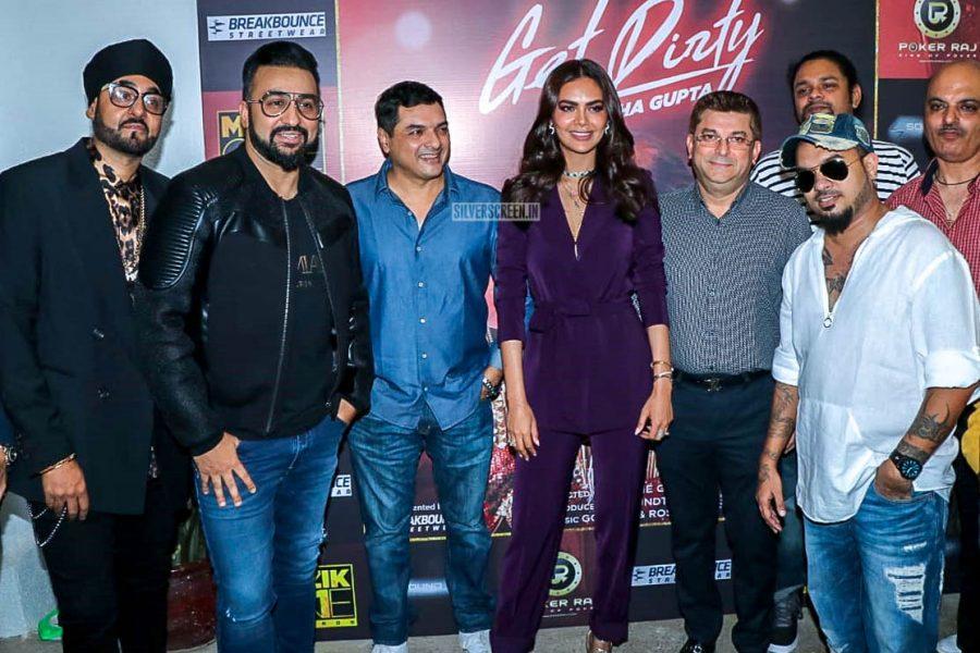 Esha Gupta At The 'Get Dirty' Song Launch