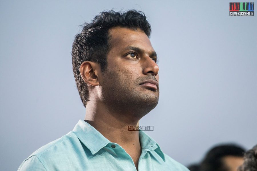Vishal At The TFPC Press Meet Held Ahead Of The 'Ilayaraaja 75' Concert