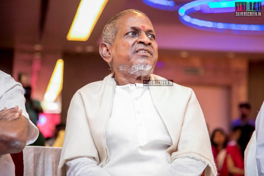Ilaiyaraaja Presents 'Kaliyuga Karnan' Award to Kalaimamani Abirami Ramanathan