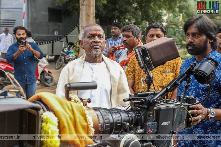 Ilaiyaraaja, Vijay Antony At The 'Tamilarasan' Movie Launch
