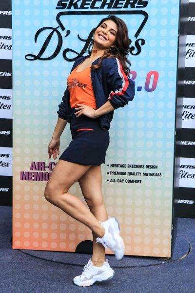 Jacqueline Fernandez Attends The Launch of Skechers' New Collection