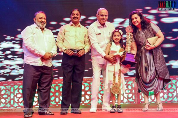 Meena, Baby Naika At An Award Event In Chennai