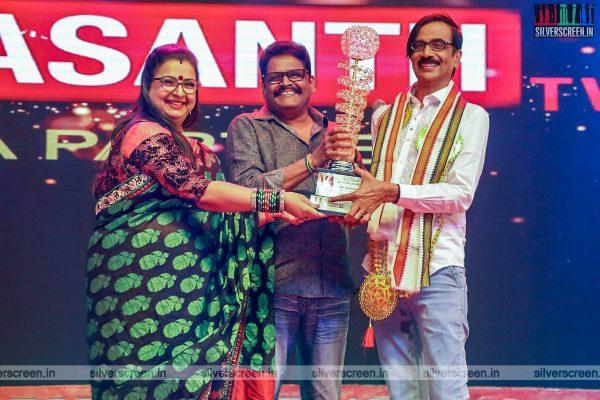 KS Ravikumar At An Award Event In Chennai