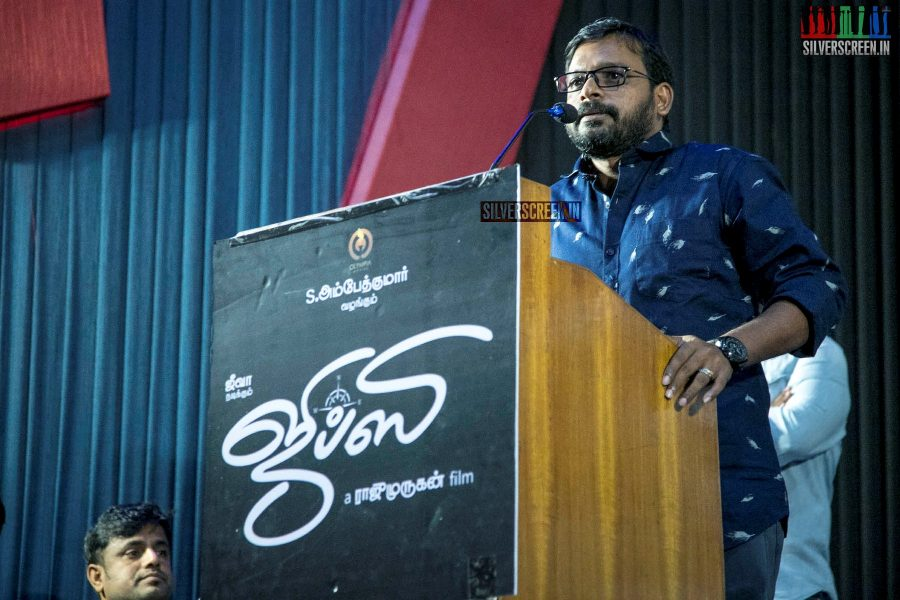 Raju Murugan At The 'Gypsy' Press Meet