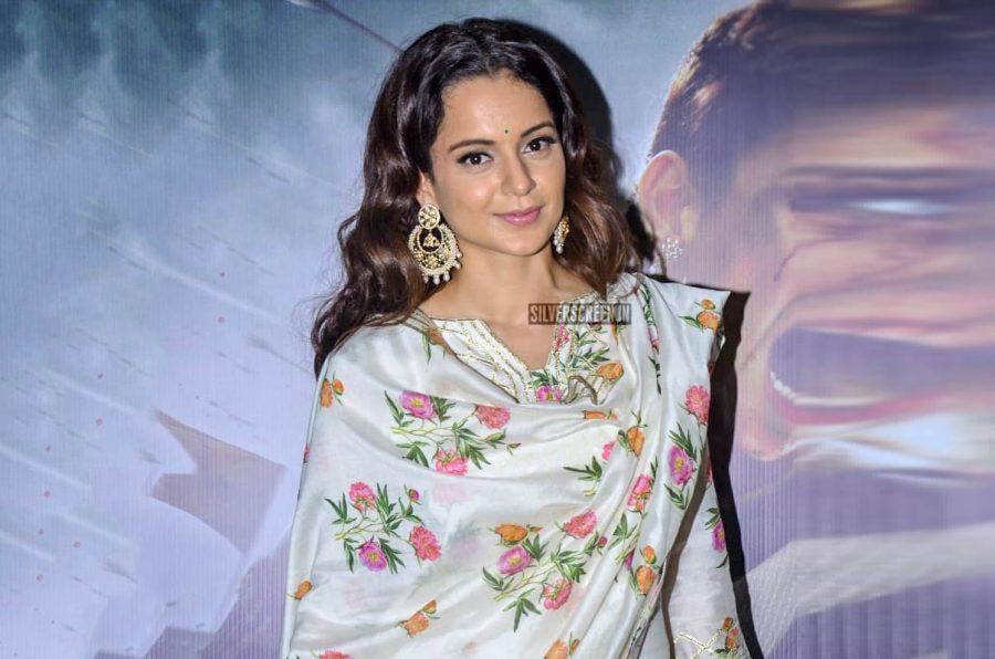 Kangana Ranaut At The 'Manikarnika–The Queen Of Jhansi' Premiere