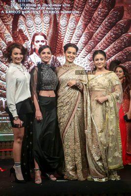 Kangana Ranaut At The 'Manikarnika–The Queen Of Jhansi' Song Launch