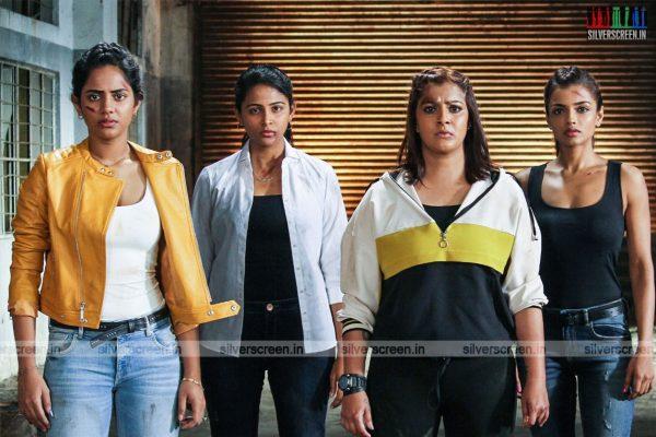 Kannitheevu Movie Stills Starring Varalaxmi Sarathkumar, Aishwarya Dutta, Ashna Zaveri