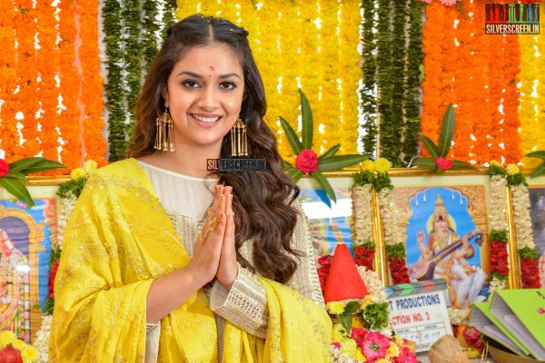 Keerthy Suresh At A Movie Launch