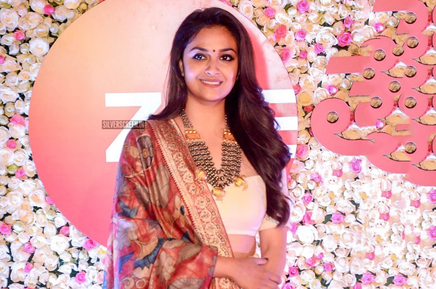 Keerthy Suresh At The Zee Cine Awards 2018