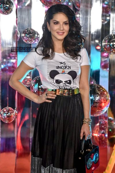 Sunny Leone At The Launch Of 'Dabboo Ratnani Calendar 2019'