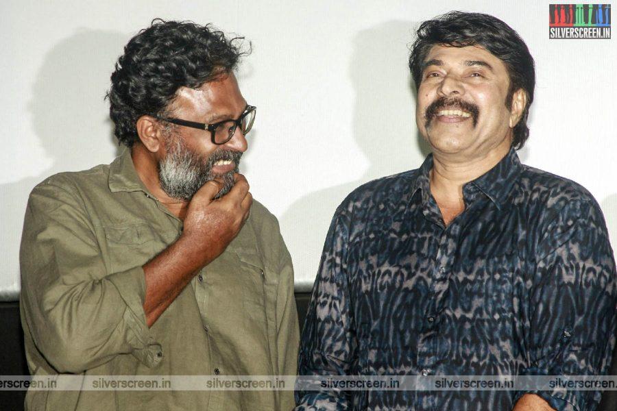 Mammootty, Ram At The 'Peranbu' Premiere