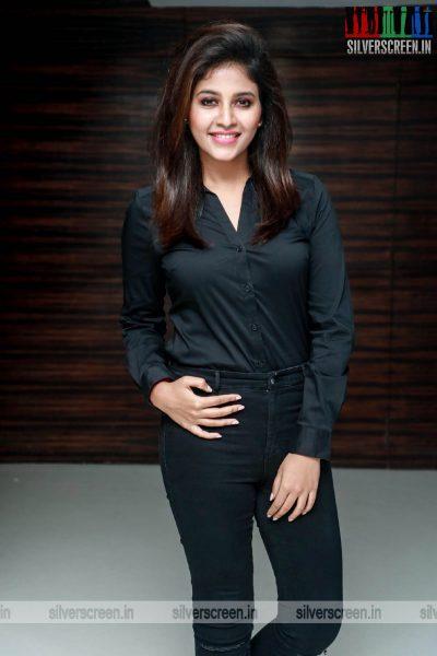 Anjali At The 'Peranbu' Premiere