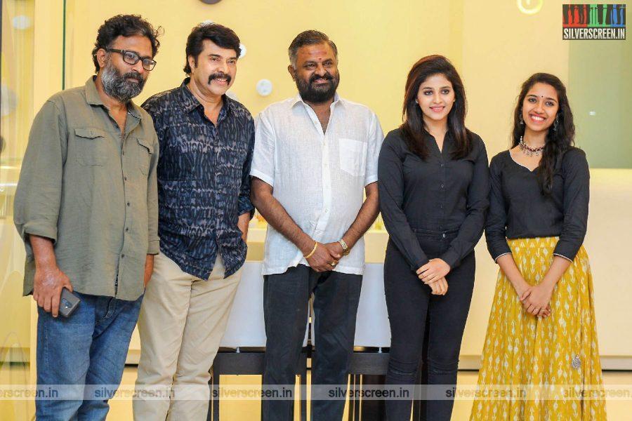 Mammootty, Anjali, Ram, Mari Selvaraj At The 'Peranbu' Premiere