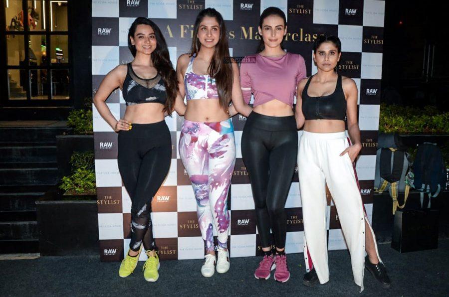 Mandana Karimi, Sai Tamhankar, Soundarya Sharma At The Fitness Masterclass Event