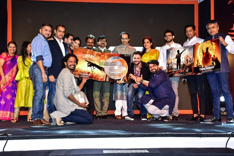 Amrita Rao, Nawazuddin Siddiqui At The 'Thackeray' Audio Launch