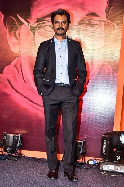 Nawazuddin Siddiqui At The 'Thackeray' Audio Launch