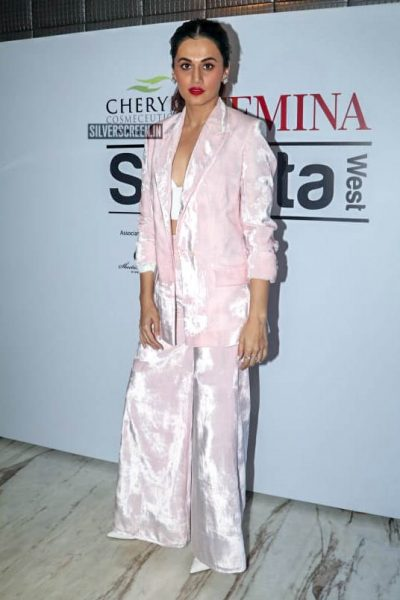 Taapsee Pannu At 'Cheryls Femina Stylista West' Event
