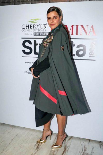 Neha Dhupia At 'Cheryls Femina Stylista West' Event