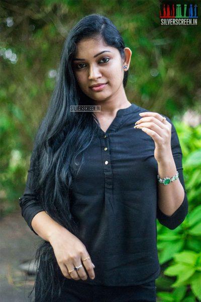 Sri Priyanka At The 'Miga Miga Avasaram' Trailer Launch