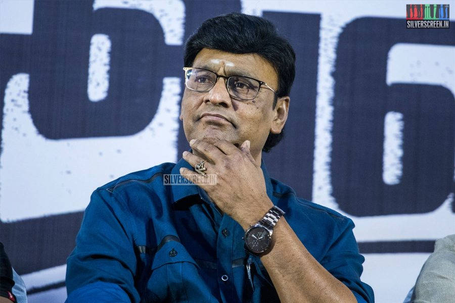 K Bhagyaraj At The 'Miga Miga Avasaram' Trailer Launch