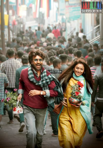 Petta Movie Stills Starring Rajinikanth, Simran