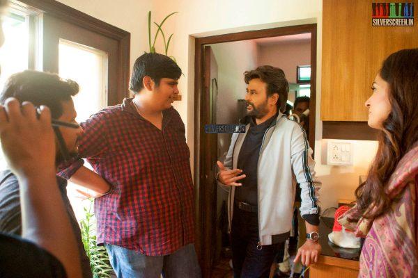 Petta Movie Stills Starring Rajinikanth, Simran