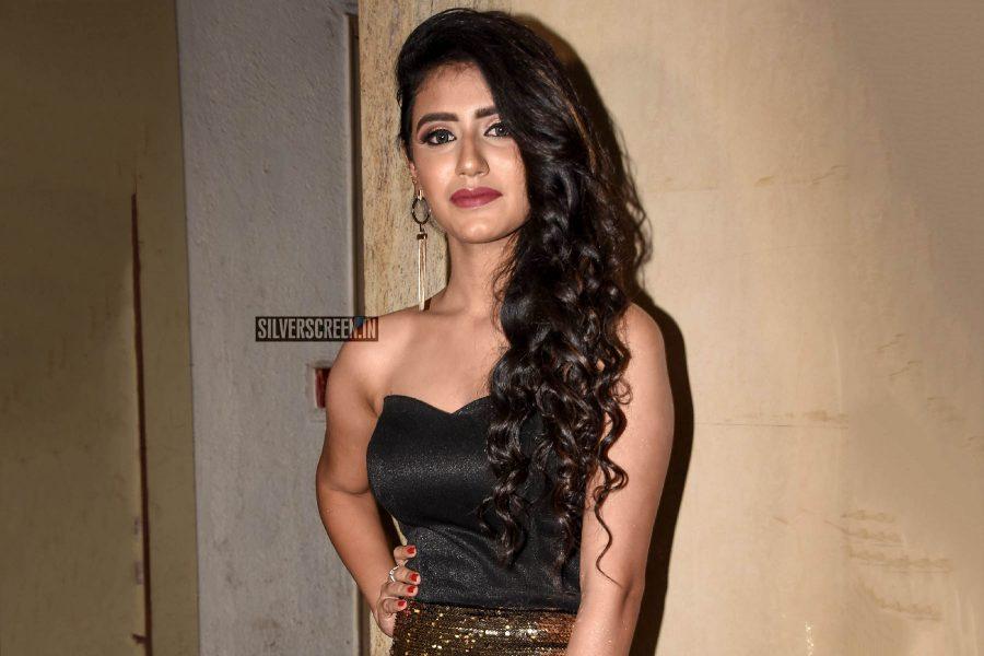 Priya Prakash Varrier At The 'Sridevi Bungalow' Trailer Launch