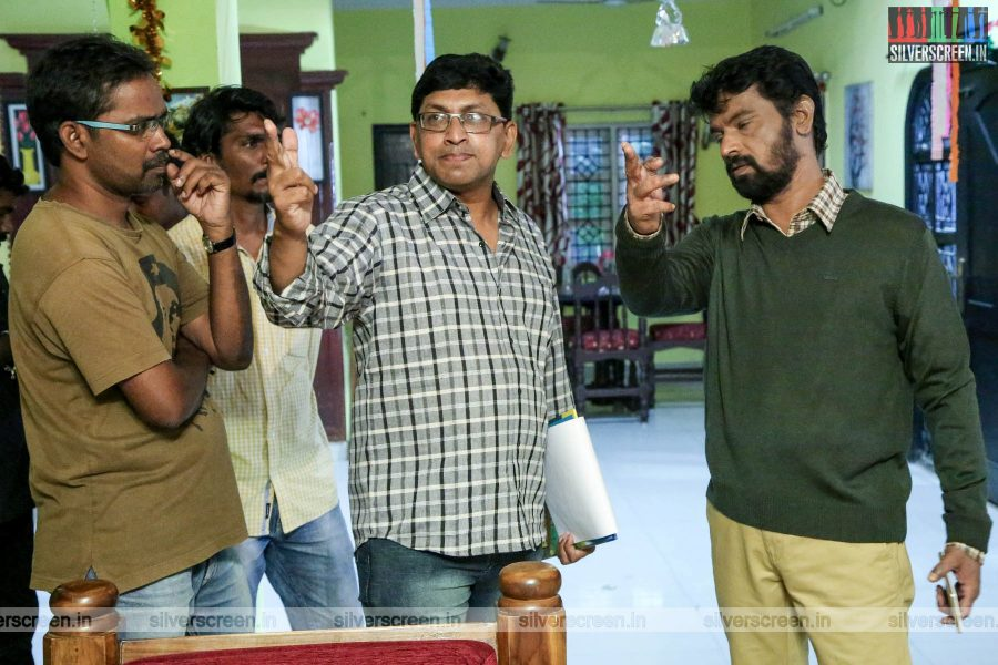 Rajavukku Check Movie Stills Starring Cheran