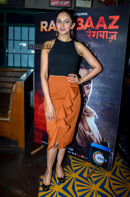 Rakul Preet Singh, Rhea Chakraborty At The 'Rangbaaz