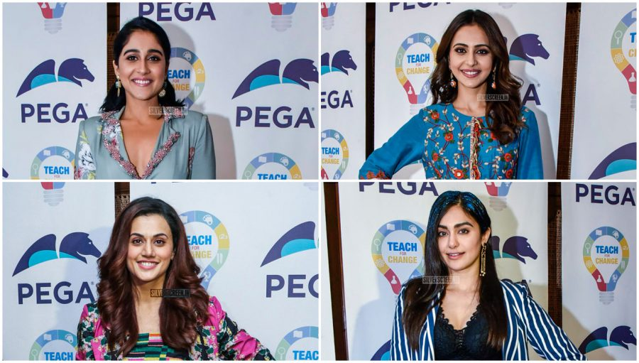 Rakul Preet Singh At The 'Teach For Change' Charity Event