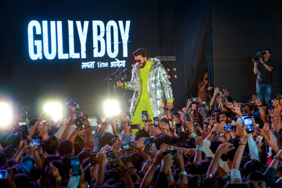 Ranveer Singh At The 'Gully Boy' Audio Launch