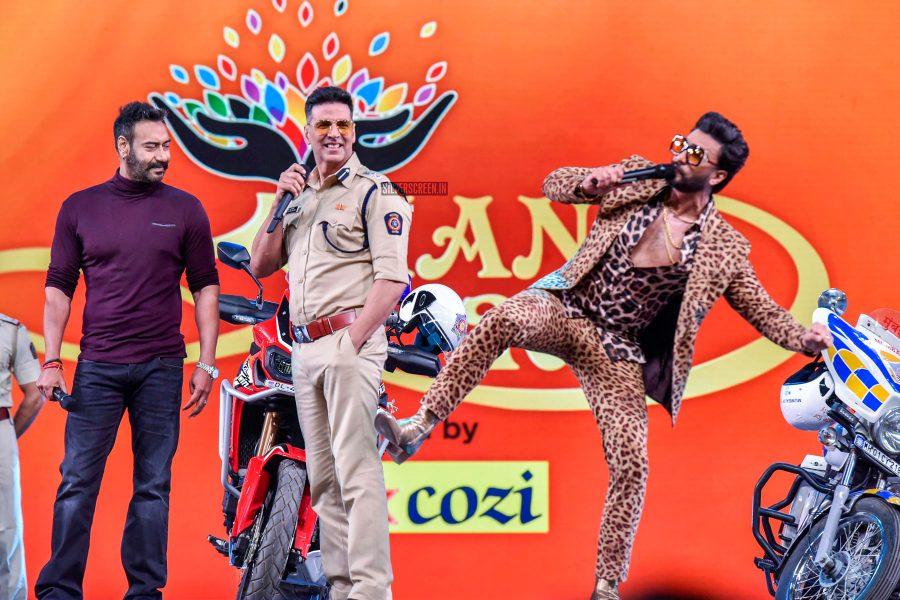 Akshay Kumar, Ranveer Singh, Ajay Devgn At Umang 2019 Festival