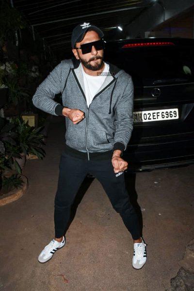 Ranveer Singh At The 'Uri' Premiere
