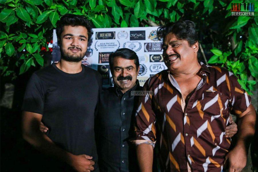 Mansoor Ali Khan, Seeman At The Kadamanparai Audio Launch
