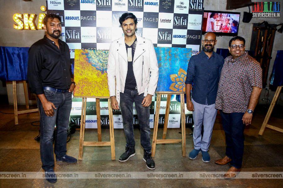 Ganesh Venkatraman At The Launch of 'Designer Paint Series'