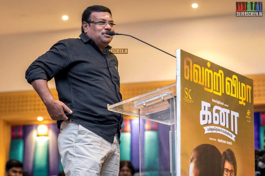 Ilavarasu At The 'Kanaa' Success Meet