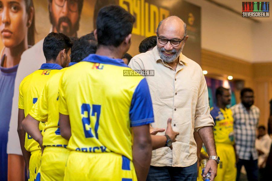 Sathyaraj At The 'Kanaa' Success Meet
