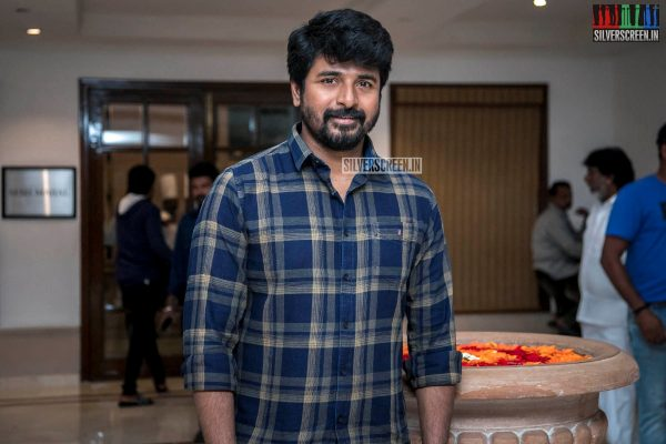 Sivakarthikeyan At The 'Kanaa' Success Meet