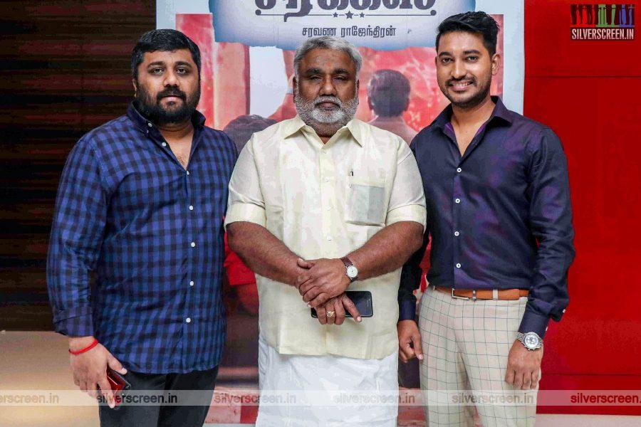 KE Gnanvelraja At The 'Mehandi Circus' Audio Launch
