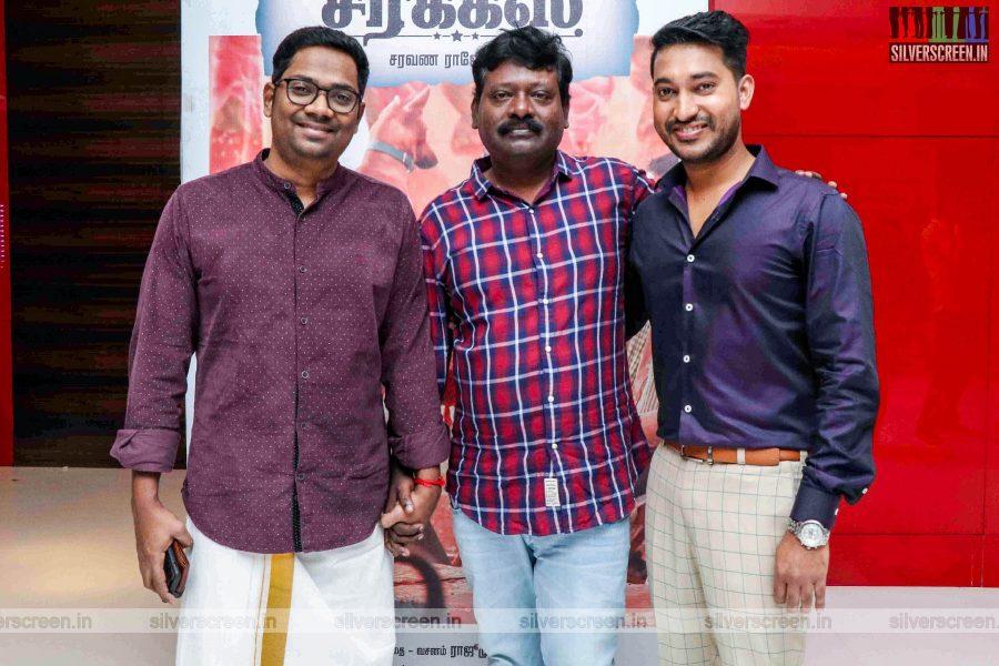 Madhampatty Rangaraj At The 'Mehandi Circus' Audio Launch